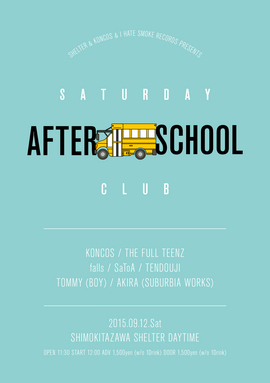 2015.9.12.Sat SATURDAY AFTER SCHOOL CLUB