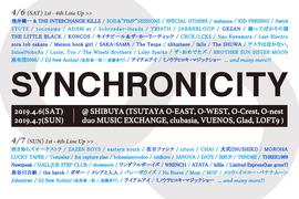 2019.04.06.Sat 東京 渋谷 SYNCHRONICITY'19