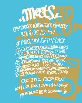 2019.05.10.Fri 福岡 KIETH FLACK