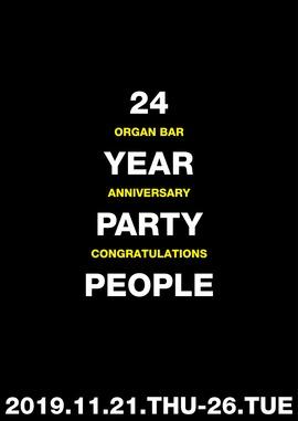 2019.11.21.Thu 東京 渋谷 Organ Bar