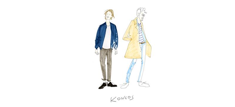 KONCOS + yoko sakai